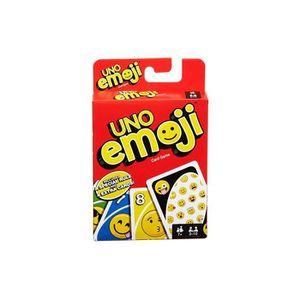 CARTES DE JEU Jeu De Cartes Uno Emoji Version Anglaise - Jeu Enf