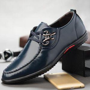 MOCASSIN Mode Chaussures en cuir d'affaires décontractée De