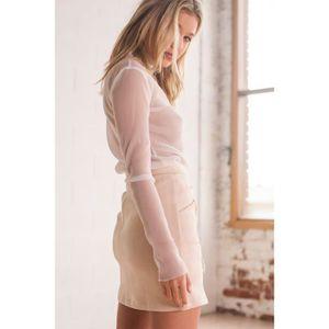 628a3d5ff0cbf0 Mini jupe transparente - Achat / Vente pas cher