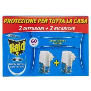PRODUIT INSECTICIDE RAID LIQ. 30NOTTI COMPLETO 2PZ