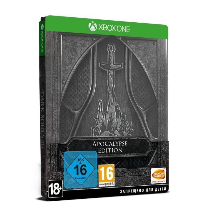 JEU XBOX ONE Dark Souls III Edition Apocalypse Xbox One