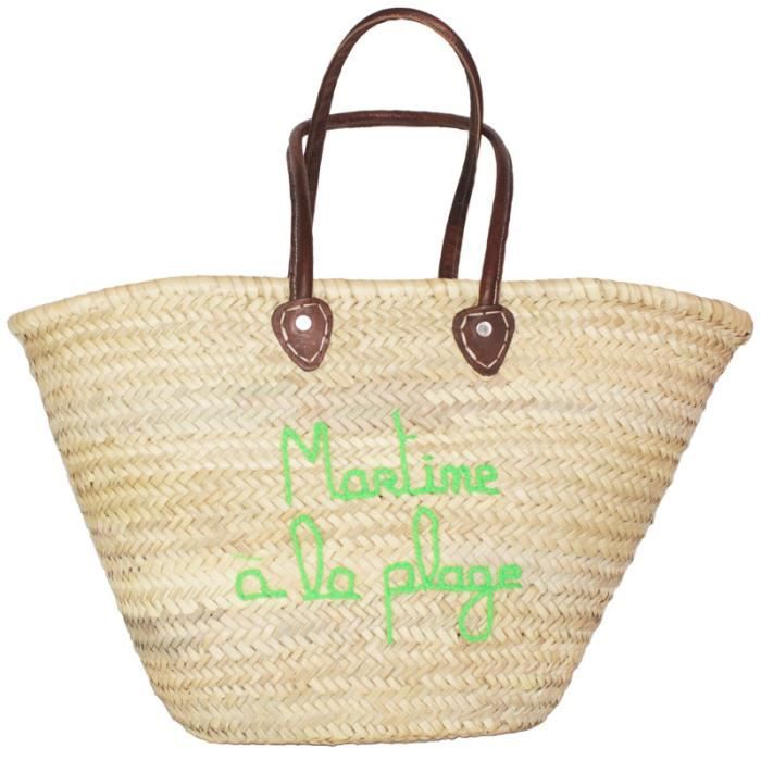 martine la plage achat vente panier sac de plage. Black Bedroom Furniture Sets. Home Design Ideas