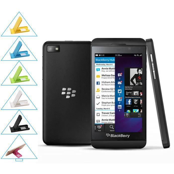 SMARTPHONE Noir BlackBerry Z10 occasion débloqué remise Grade