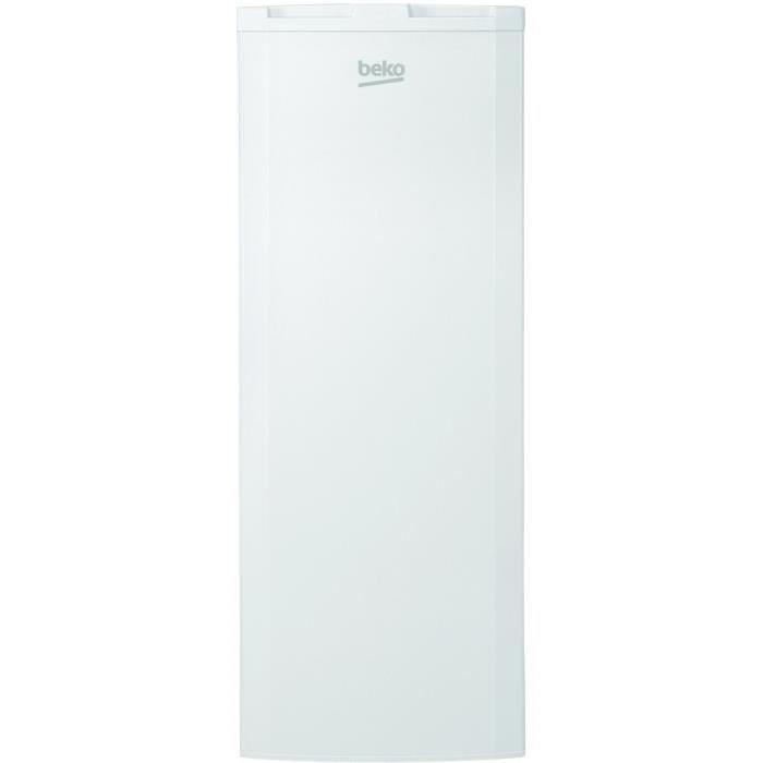 Beko fse21921 cong lateur armoire 170l froid statique a l54 x h145 6cm achat vente - Beko congelateur armoire ...