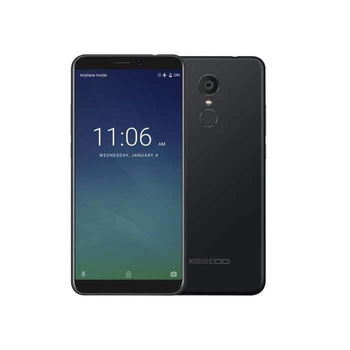 """SMARTPHONE Keecoo P11 5.7"""" Smartphone 4G Android 7,0 2Go + 16"""