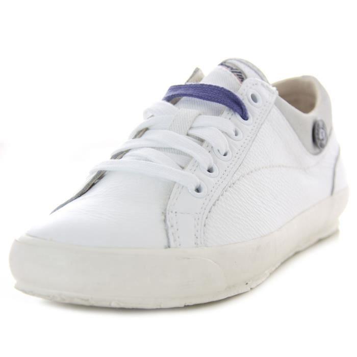 DIESEL baskets femme cuir SUNDAY 1003 blanc Vh6LO