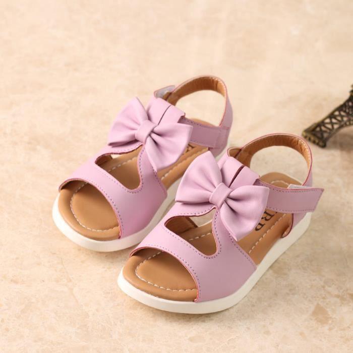 Filles sandales d'été des chaussures confortabl... 3YINY