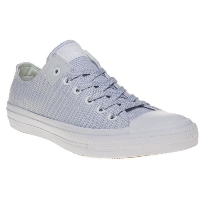 Converse Chuck Taylor All Star Ii Low Mens Sneakers White E7AH6 Taille-42