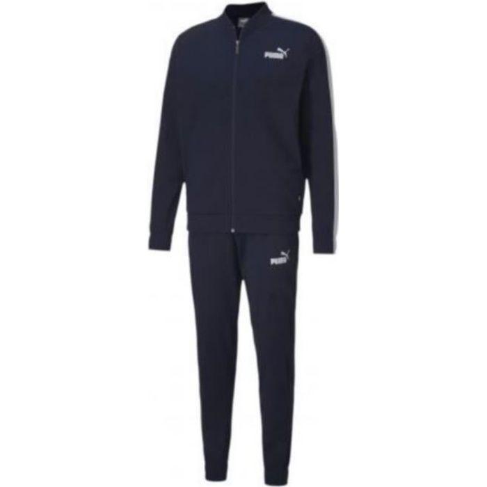 Jogging Homme Puma Bleu Marine Bleu Bleu - Achat   Vente survêtement ... fb463dbf974