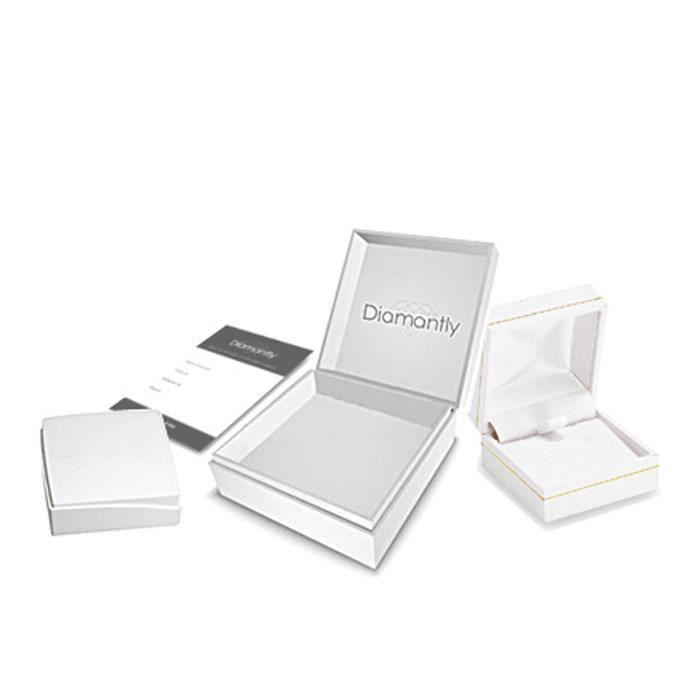 LULUCASTAGNETTE Bracelet pampilles cristal or gris 375-1000 - 18.0 cm
