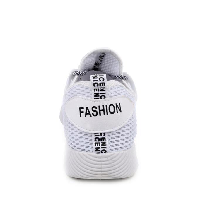 Chaussures De Sport Pour Hommes Textile De Course Populaire WYS-XZ130Blanc39