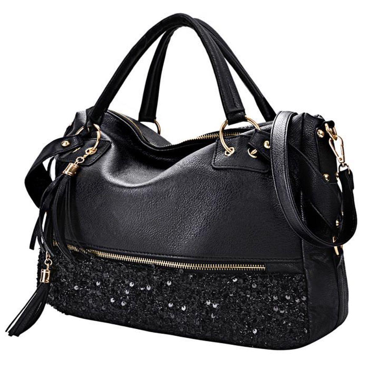 e6660f355e ... épaule femme sacoche(Coofit ). POCHETTE sac à main femme sac bandoulière  fuax cuir ...