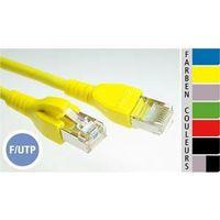 CÂBLE RÉSEAU  EC-net Câble patch cat.5   F/UTP, gris, 15,0 m …