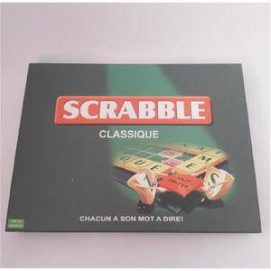 JEU SOCIÉTÉ - PLATEAU Mattel Scrabble Classique Mot Jeu de société éduca