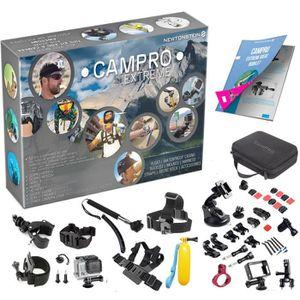 CAMÉRA SPORT CamPro Extreme -Ensemble complet d'accessoires de