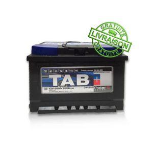 BATTERIE VÉHICULE Batterie de démarrage TAB VL 12V 60 AH 500A D+