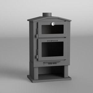 poele a bois avec four achat vente poele a bois avec four pas cher cdiscount. Black Bedroom Furniture Sets. Home Design Ideas