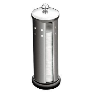 DISTRIBUTEUR DE COTON Pot à cotons démaquillants en acier inoxydable.…