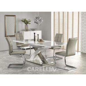 TABLE À MANGER COMPLÈTE Ensemble table à manger design extensible 160÷220