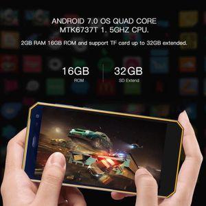 SMARTPHONE NOMU M6 5.0 pouces 4G Smartphone Android Étanche E