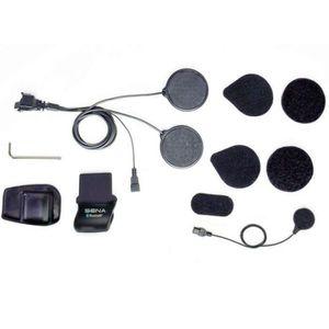 INTERCOM MOTO Kit de montage complet (micro filaire) Sena SMH…