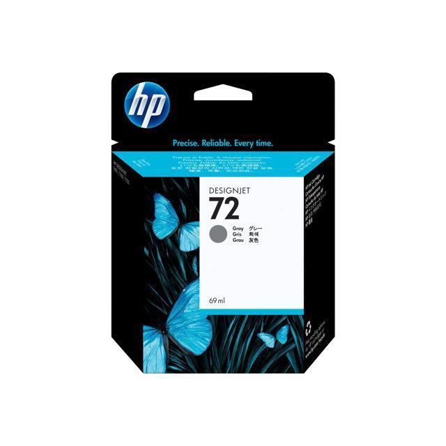 HP Cartouche d'encre 72 - Pack de 1 - Gris