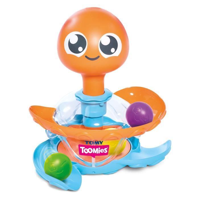 TOMY Ma toupie Pop'Pieuvre