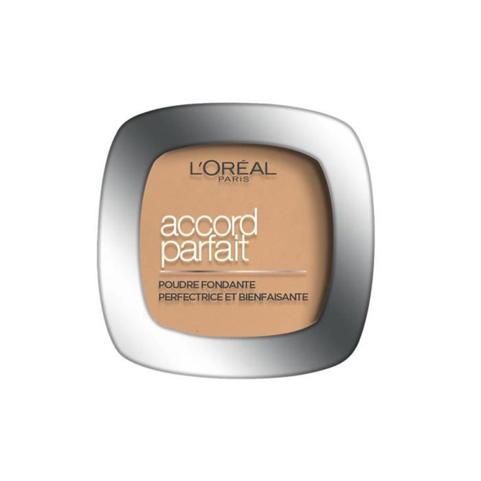 L'ORÉAL PARIS - Accord Parfait La Poudre 3.D Beige Doré - 9g