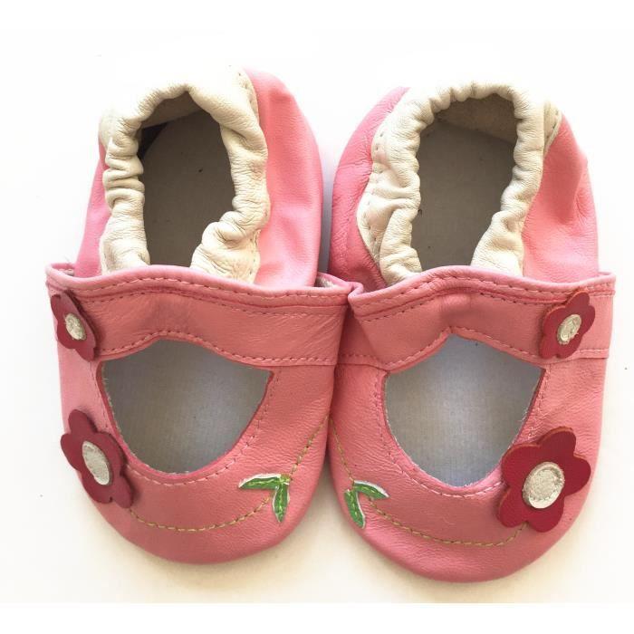 Chaussons ENFANT Cuir Souple 12-18 mois