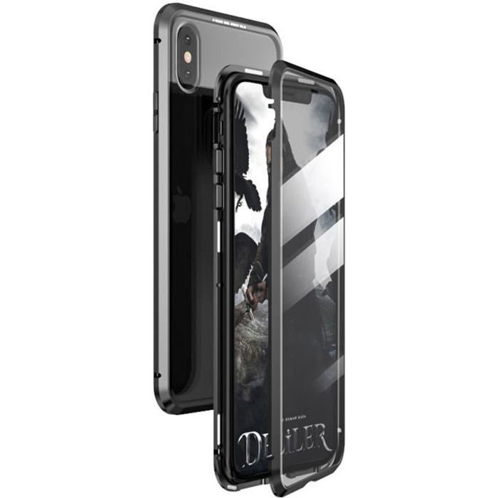 coque adsorption magnetique iphone xs
