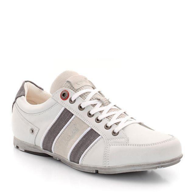 Chaussures Adidas Element Refresh M Blanc Blanc - Achat / Vente basket  - Soldes* dès le 27 juin ! Cdiscount