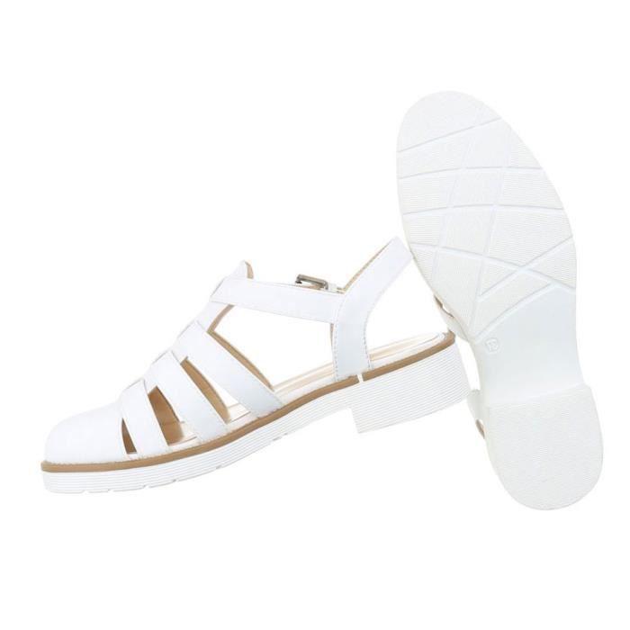 Femme sandales chaussures chaussures de plage chaussures d'été Strappy escarpin noir 41 NzbGXd5t