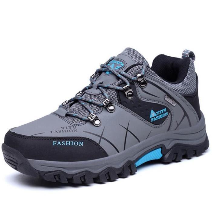 Chaussures De RandonnÉE En Plein Air Pour Hommes ZX-XZ010Bleu45