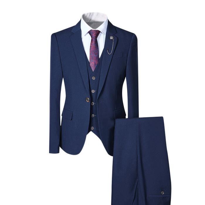 COSTUME - TAILLEUR Costume 3 pièces pour homme, costume de mariage, ... 4ee7135e3a5