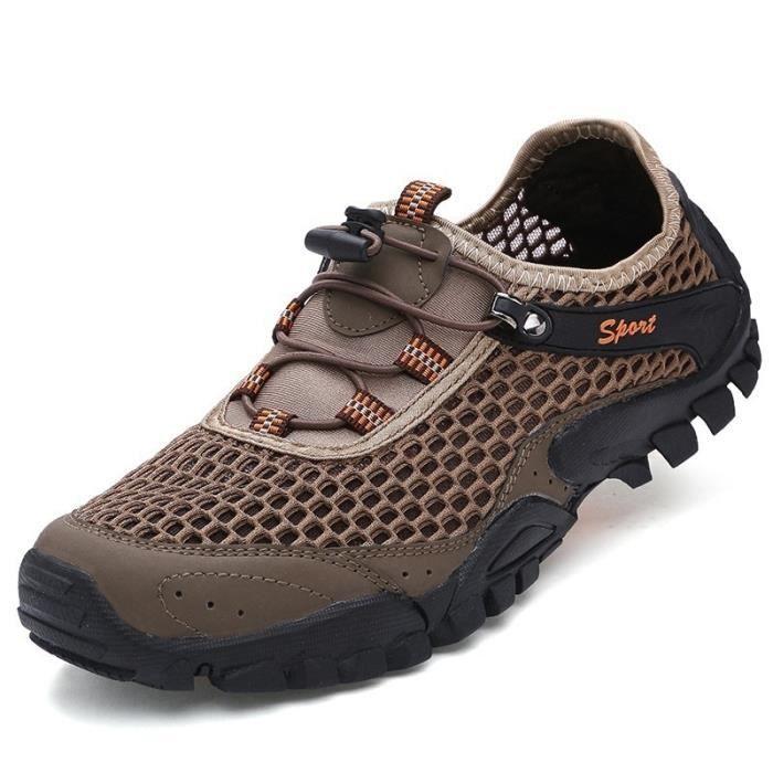 Mode Homme Nouveau Chaussures Voyage pataugeoires Alpinisme Sports de plein air Chaussures antidérapants résistant à l'usure 29P7qt70lN
