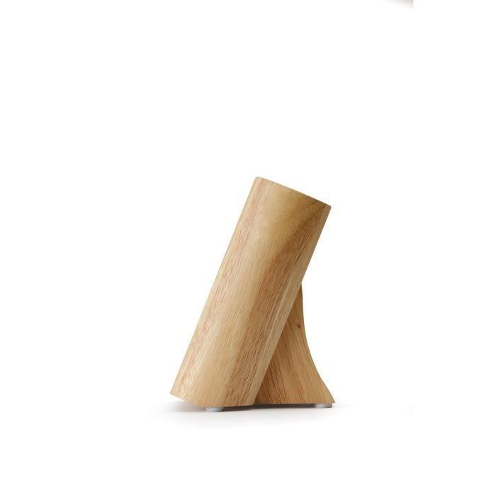Bloc couteaux bois vide achat vente pas cher - Bloc en bois pour couteau ...