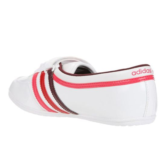 Ballerines adidas Originals CONCORD ROUND W Rouge Blanc
