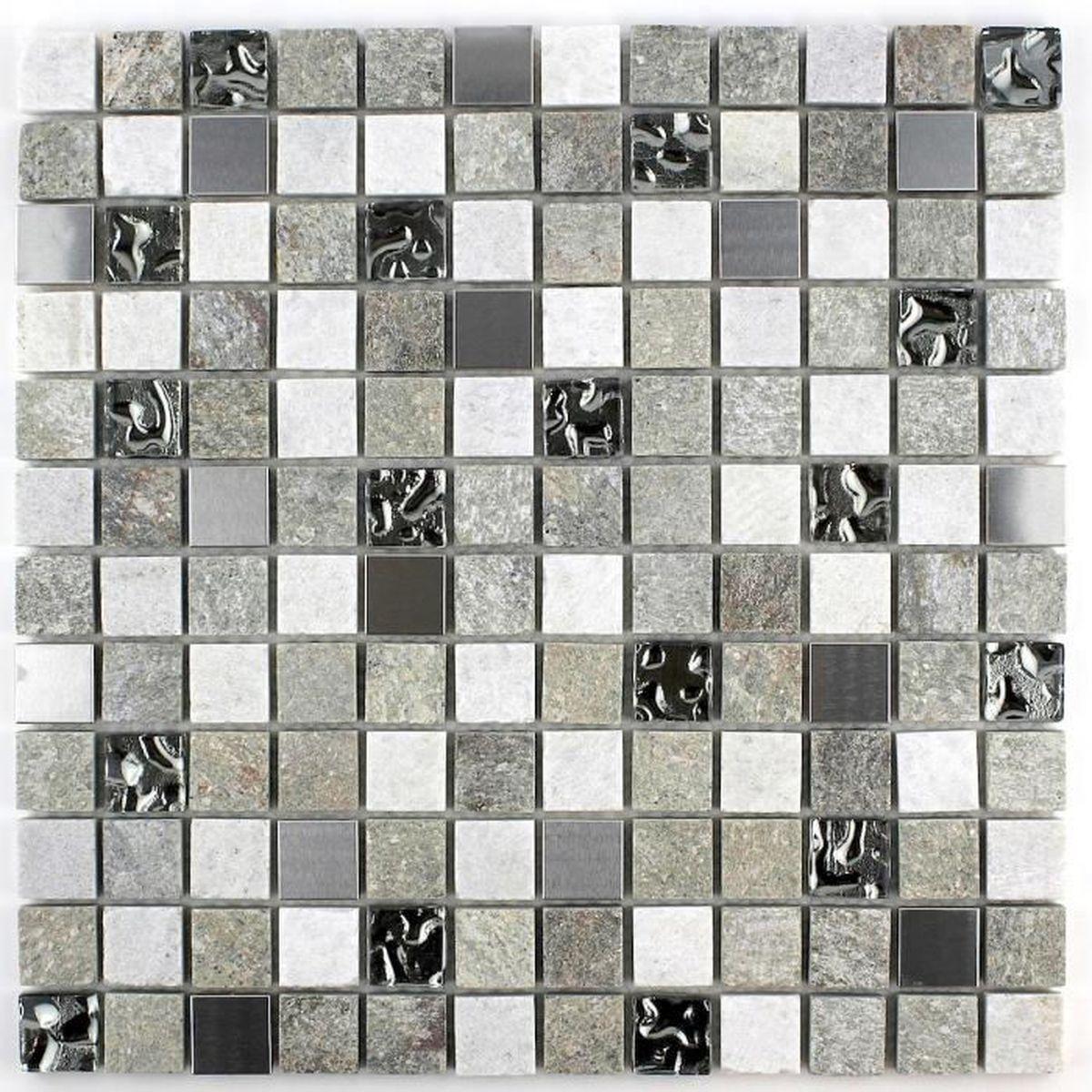 Carrelage Mosaique Quartz Sol Et Mur Douche Et Salle De Bain Mp