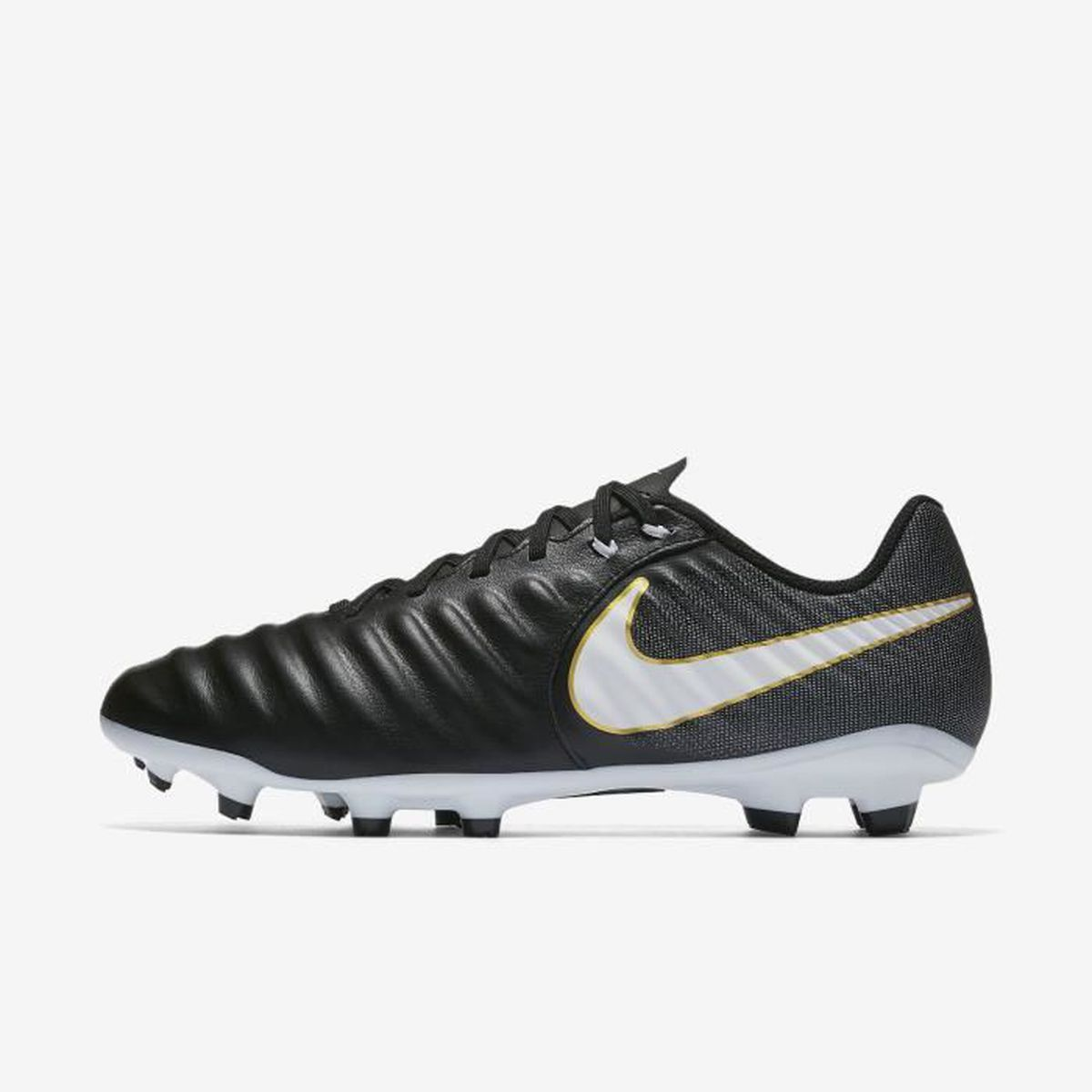 best sneakers 23314 aeee1 CHAUSSURES DE FOOTBALL Nike Tiempo Ligera IV Firm-Ground, Sol ferme, Adul