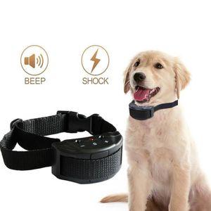 ANTI-ABOIEMENT Collier de chien sans choc d'écorce Anti-aboiement