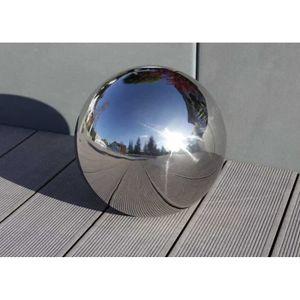 BALLE - BOULE - BALLON Balle de jardin boule en acier inoxydable Deko bal