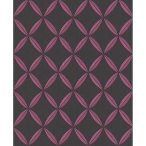 Papier peint intisse rose achat vente papier peint - Papier peint intisse pas cher ...