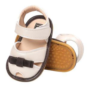 Napoulen®Bébé filles girl bowknot sandales Chaussures Casual semelle anti-dérapante Soft Sole BLEU -NYZ0926056 QxgC1qcVZ