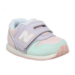BASKET Baskets NEW BALANCE FS996 toile Enfant-26-Pink