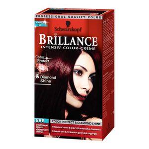 Couleur de cheveux rouge sur noir