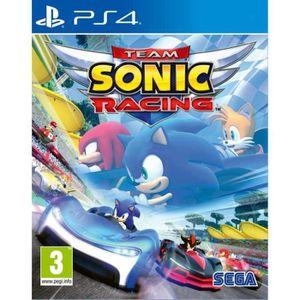JEU PS4 Team Sonic Racing Jeu PS4 + 1 Figurine offerte