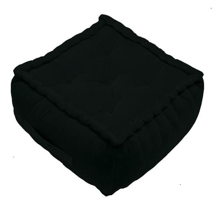 Matière : 100% coton - Dimensions : 40x40x30 cmPOUF - POIRE