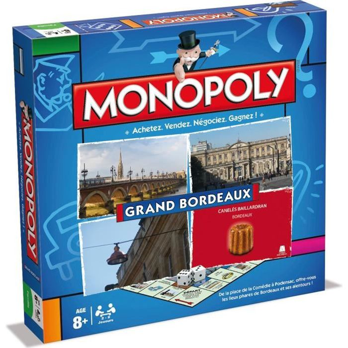 WINNING MOVES Monopoly Grand Bordeaux