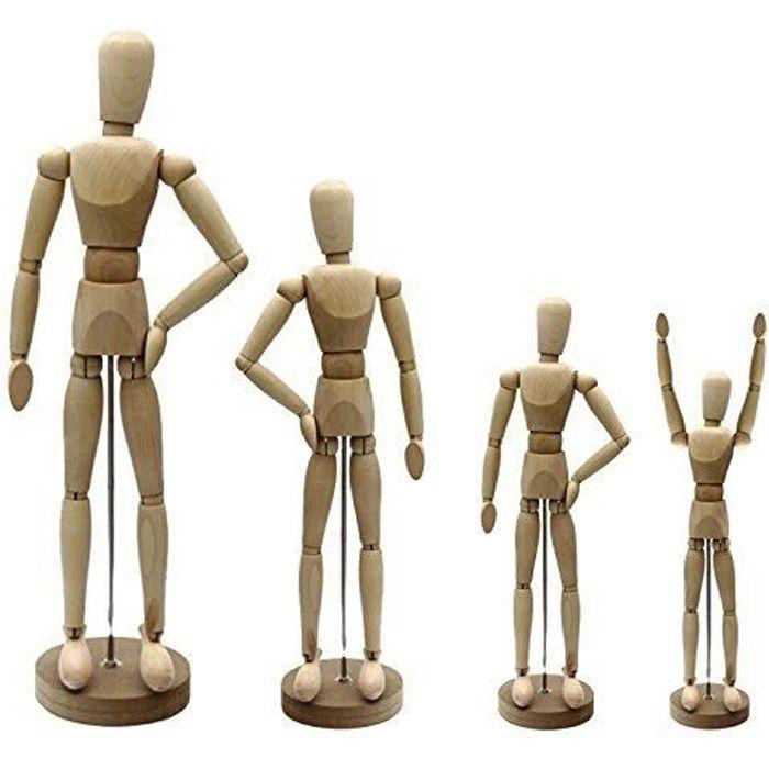 Artina Modèle Dali De Dessin Figurine De 20cm Pour Esquisse