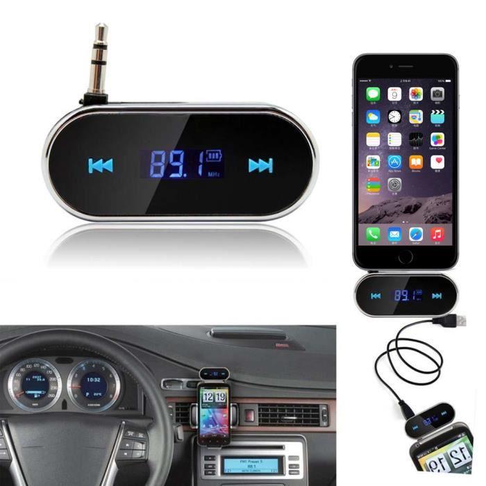 Kit de voiture pratique sans fil FM Transmetteur lecteur MP3 USB SD télécommande mains libres